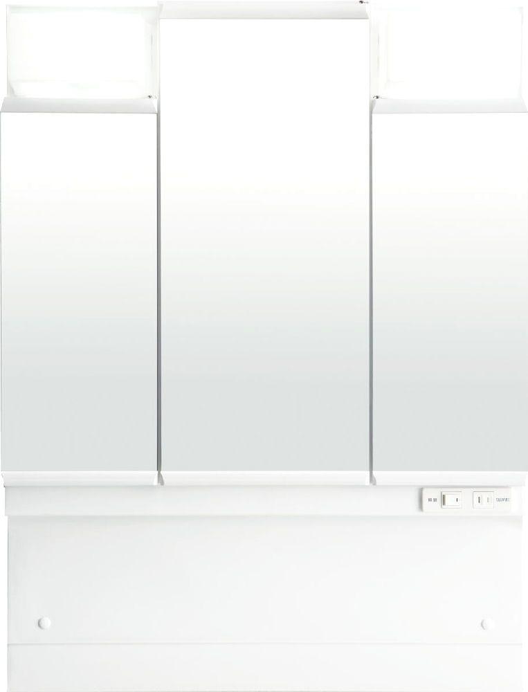 LIXIL INAX 洗面ミラー 間口750 3面鏡 MD7X2-753TYJ