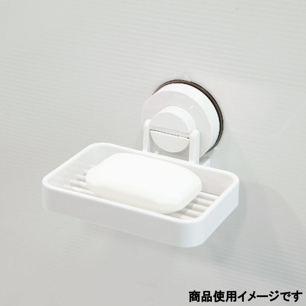 【強力吸着ジェル シリーズ】 石鹸ラック