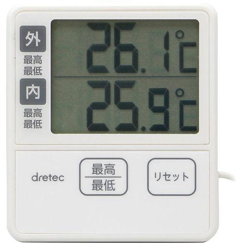 室内・湿外温度計 O-285IV