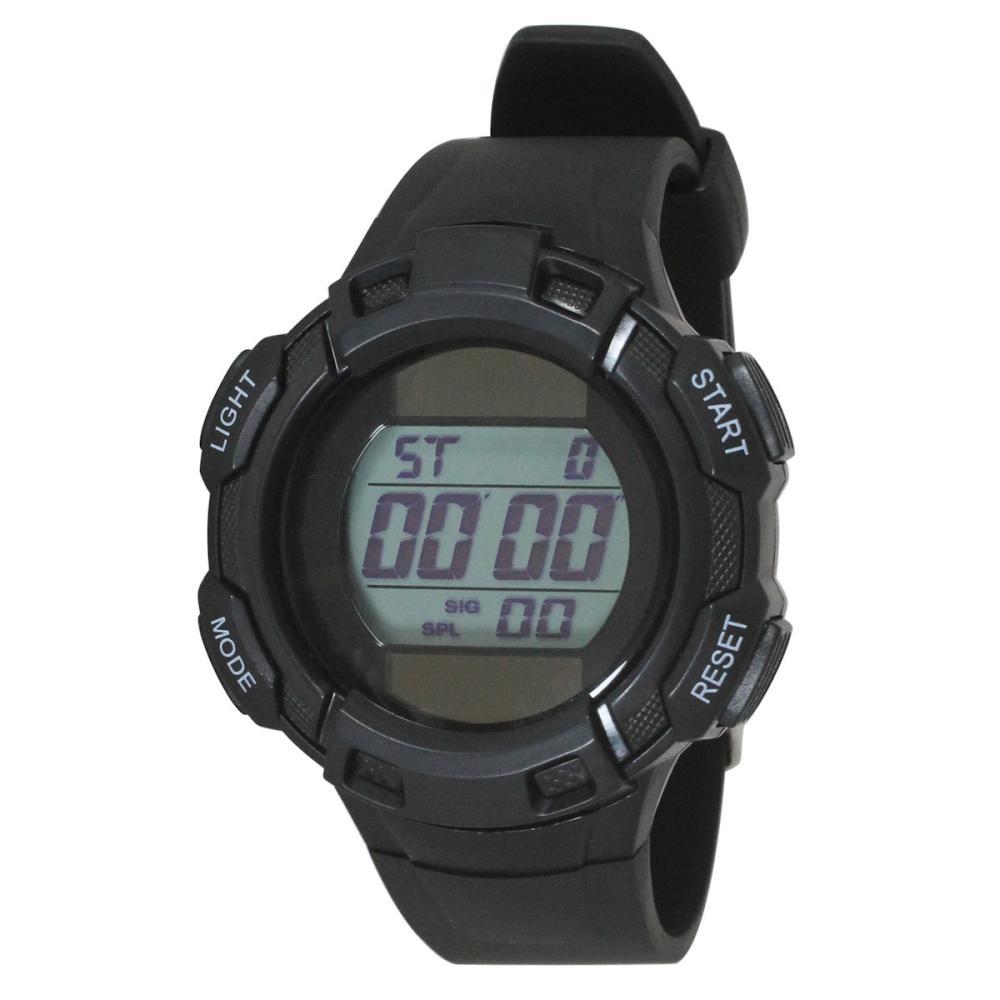 クレファー TELVA デジタル腕時計 ブラック TE-D053-BK