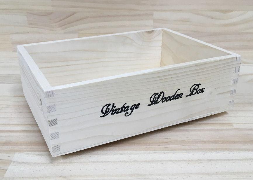 木製フリーボックス ナチュラル S