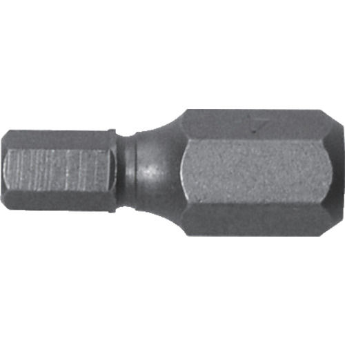 アネックス 溝付超短六角レンチビット1本組 対辺4×19_