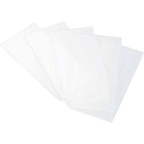 TRUSCO 溶接用透明プラスチックカバープレート 20枚入_