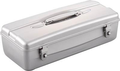 TRUSCO 山型ツールボックス 420X175X133 シルバー_