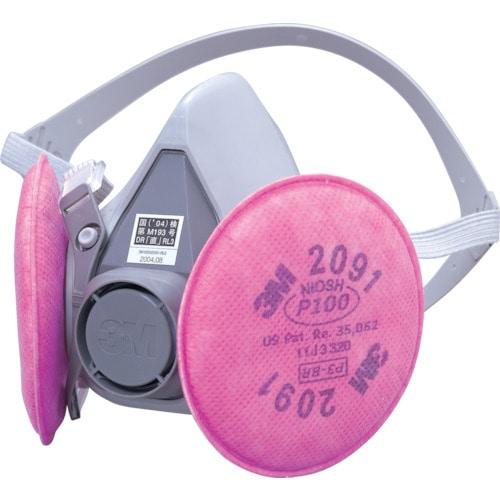 3M 取替式防じんマスク 6000/2091-RL3 Mサイズ_