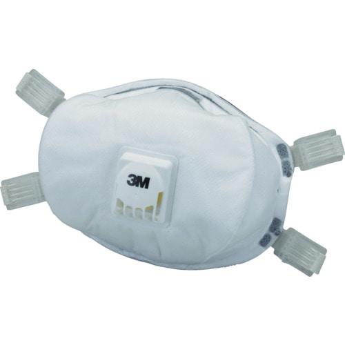 3M 使い捨て式防じんマスク 8233 DS3 排気弁付き (5枚入)_