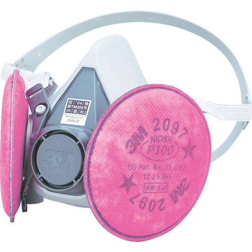 3M 取替式防じんマスク 6000/2097-RL3 Lサイズ_