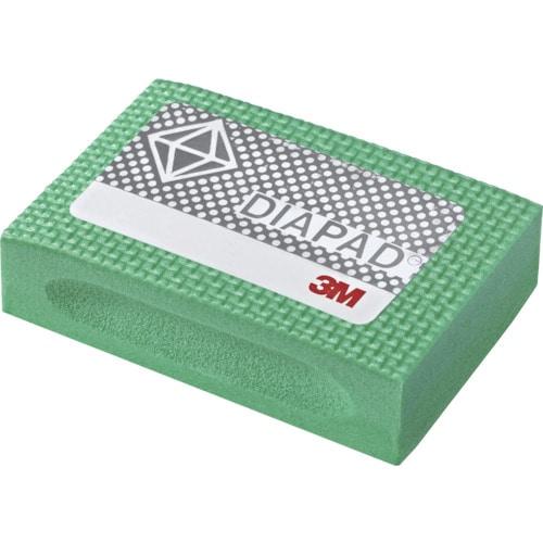 3M フレキシブルダイヤモンドハンドラップスS #60 55X90mm 緑_