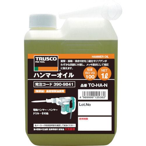 TRUSCO ハンマーオイル1L_