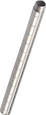 TRUSCO ステンレス製メッシュラック用継ぎ足し支柱 L309_