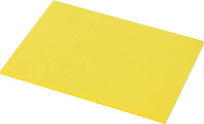 TRUSCO 5S管理シート 12mm厚 黄色_