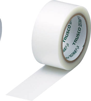 TRUSCO クロス粘着テープ 幅25mmX長さ25m クリア 透明_
