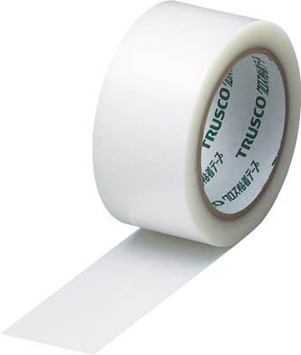 TRUSCO クロス粘着テープ 幅50mmX長さ25m クリア 透明_
