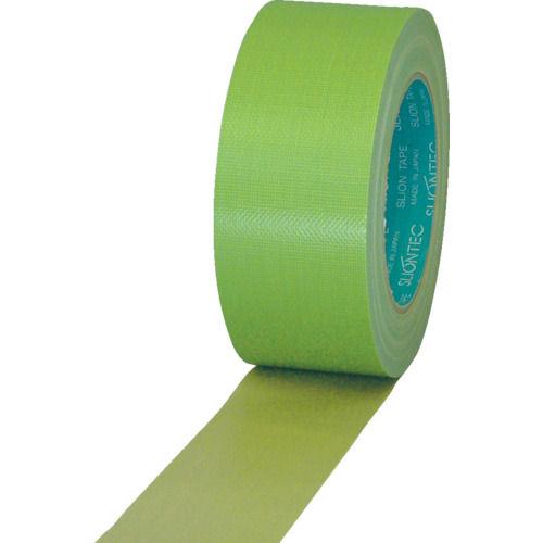 スリオン 養生用布粘着テープ100mmX25m ライトグリーン_