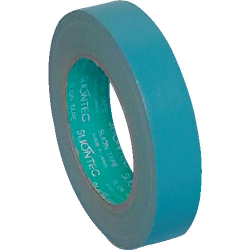 スリオン NO.3372 養生用布粘着テープ25mm幅 水色_