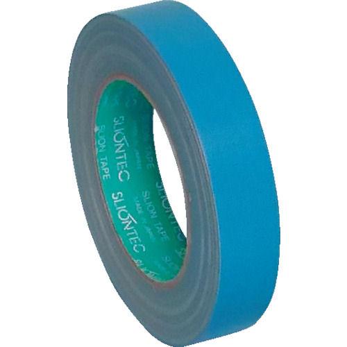 スリオン NO.3372 養生用布粘着テープ25mm幅 スカイブルー_