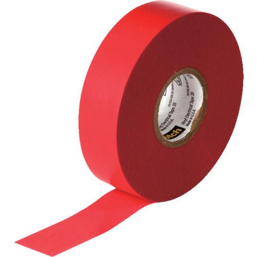 3M ビニールテープ 35 赤 19mmX20m_