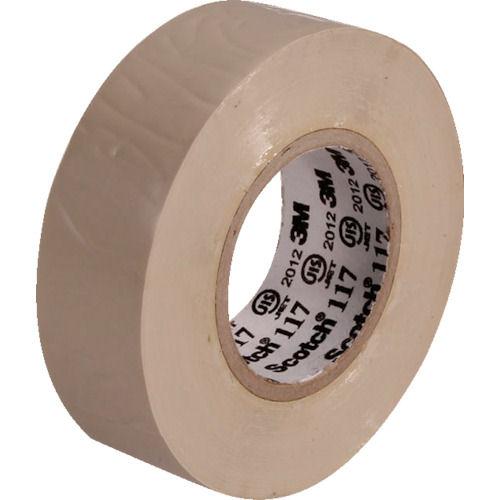 3M ビニールテープ 117 ベージュ 19mmX10m 10巻入り_