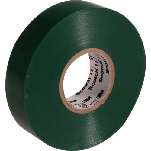 3M ビニールテープ 117 緑 19mmX20m 10巻入り_