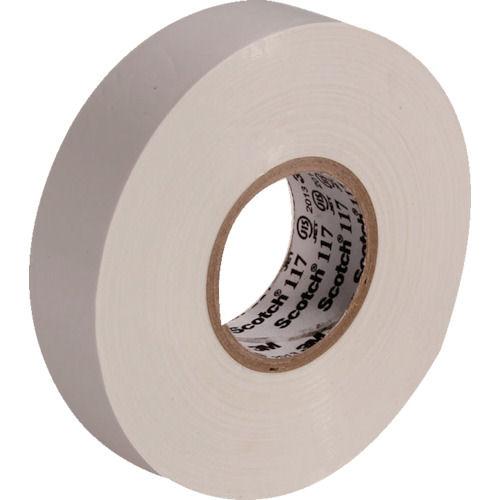 3M ビニールテープ 117 白 19mmX20m 10巻入り_