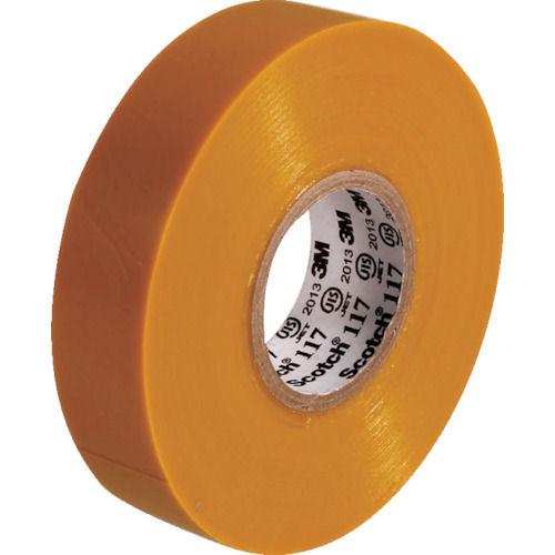 3M ビニールテープ 117 黄 19mmX20m 10巻入り_