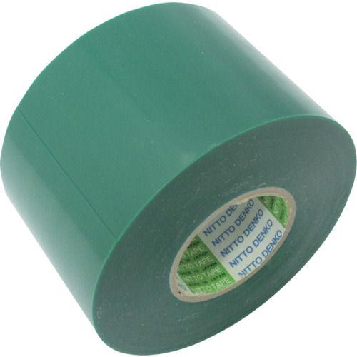日東 脱鉛タイプビニールテープNo.21 50mm×20m 4巻入り 緑_