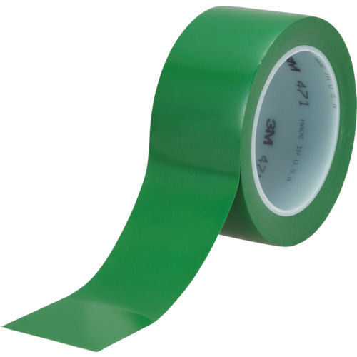 3M 高機能ラインテープ 471 緑 50mmX32.9m 個装_