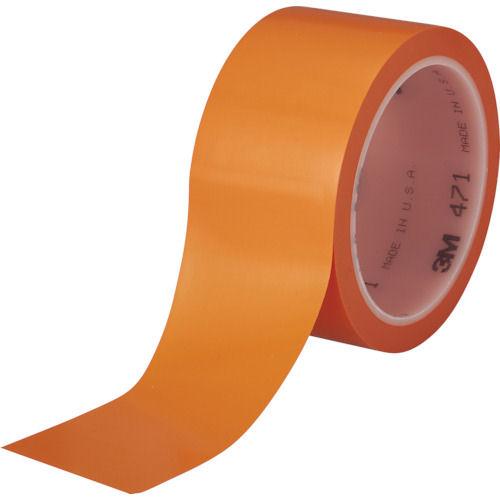 3M 高機能ラインテープ 471 オレンジ 50mmX32.9m 個装_