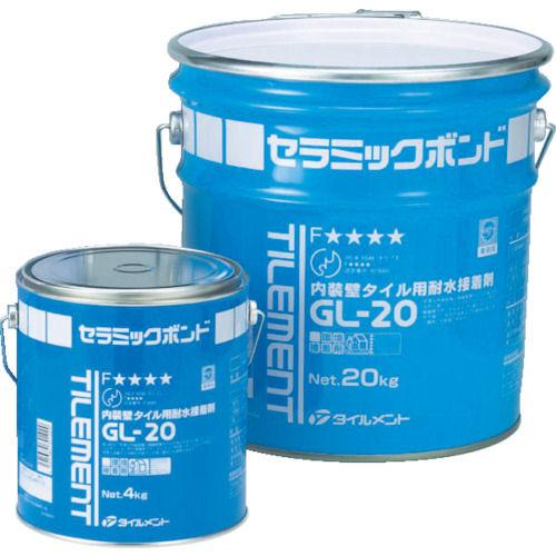 TILEMENT タイル用接着剤 GL-20 4kg_