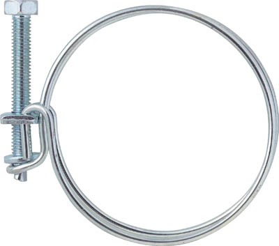 TRUSCO ネジ式ワイヤバンド 締付径21~25mm_