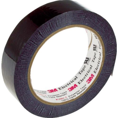 3M ポリエステル電気絶縁テープ 1350黒 50mmX66m_