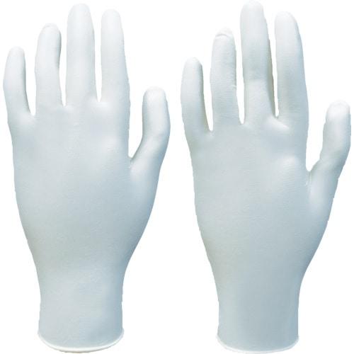 ダンロップ 粉なし天然ゴム極うす手袋 1箱(100枚入) L_
