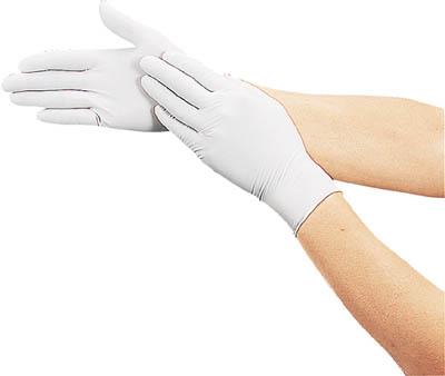 TRUSCO 使い捨て極薄手袋 100枚入 Lサイズ_