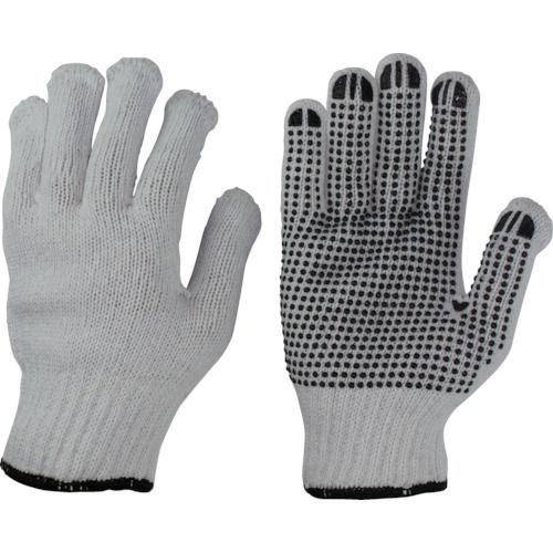 おたふく 選べるサイズ スベリ止手袋12双 ブラック LL_