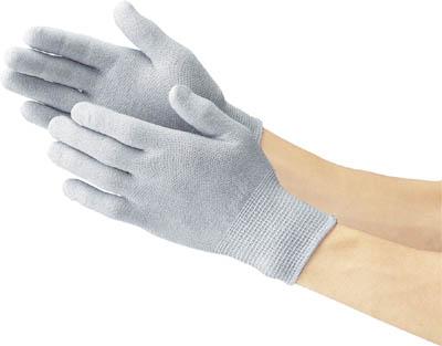 TRUSCO 静電気対策用手袋 ノンコートタイプ Mサイズ_