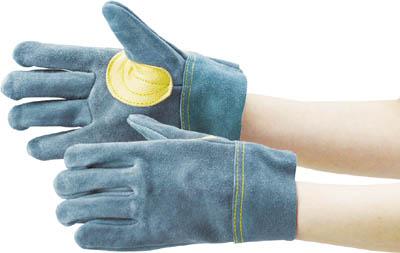 TRUSCO オイル加工革手袋 当て付 Lサイズ_