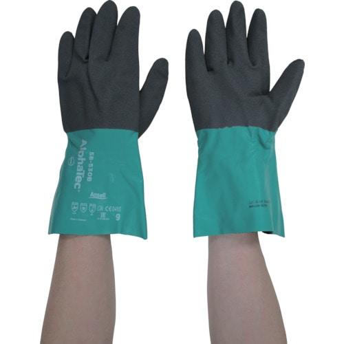 アンセル 耐溶剤作業用手袋 アルファテック L_