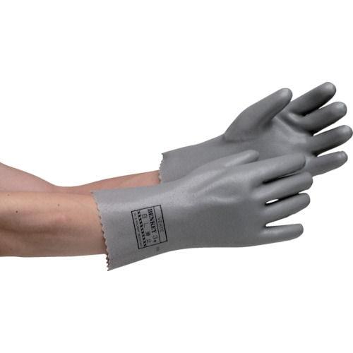 ミドリ安全 耐溶剤性・油脂対応手袋 ベンケイ3号B型 すべり止め付 LL_
