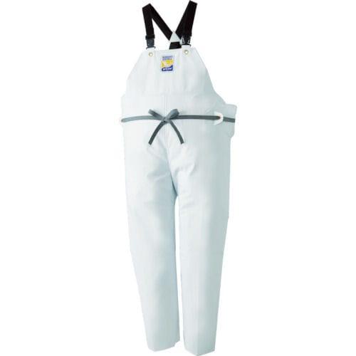 ロゴス マリンエクセル 胸当て付きズボン膝当て付きサスペンダー式 ホワイト3L_