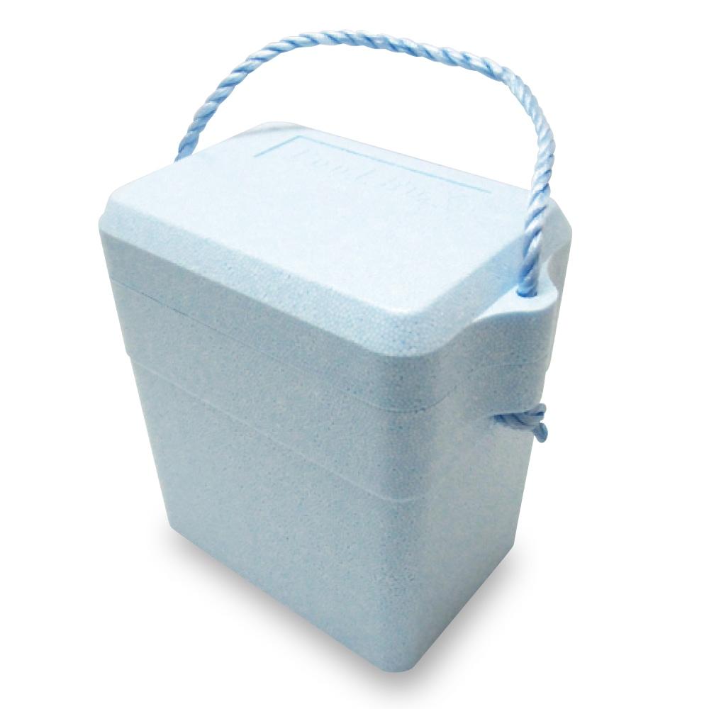 発泡クーラーボックス ライトブルー 7.5L