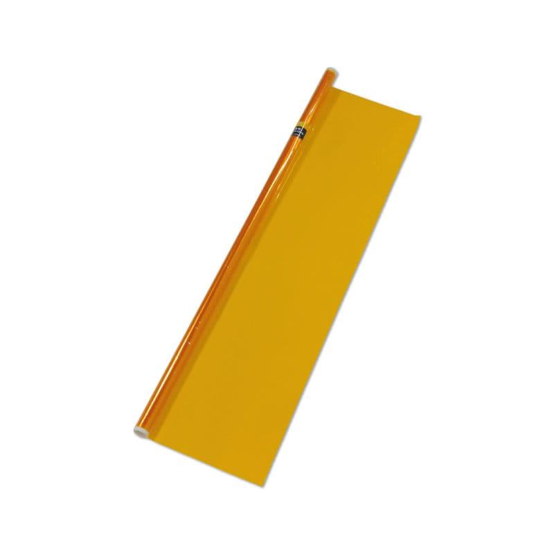 菅公工業 全版巻ニューセロハンロール 黄 90×100cm