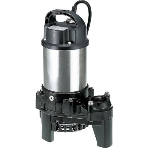 ツルミ 樹脂製汚水用水中ポンプ (単相100V) 50Hz_