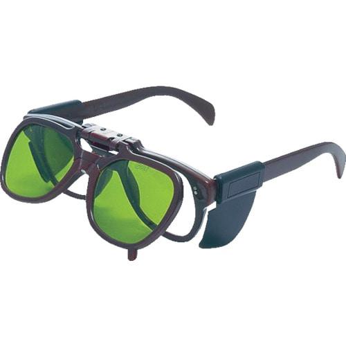 TRUSCO 複式上下自在型遮光メガネ ポリカレンズ#3_