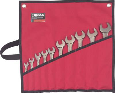 TRUSCO ミラータイプコンビネーションスパナセット 10丁組セット_