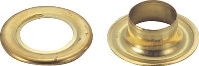 TRUSCO 両面ハトメ 真鍮 10mm 200組入_