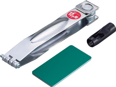 TRUSCO 両面ハトメパンチ セパレート型 10mm_