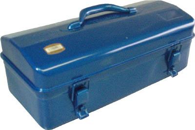 TRUSCO 山型工具箱 430X200X200 ブルー_