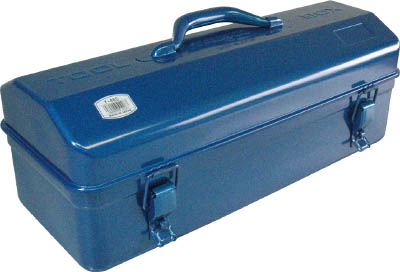 TRUSCO 山型工具箱 470X193X211 ブルー_