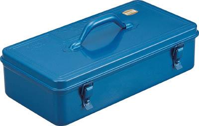TRUSCO トランク型工具箱 431X222X162 ブルー_