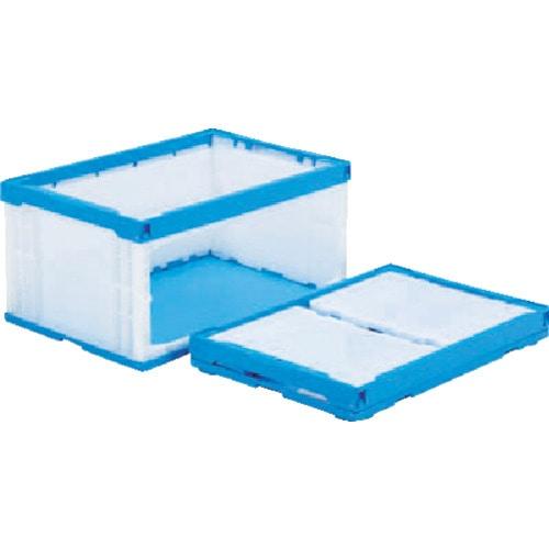 サンコー オリコンラックP75B-D(長側扉なし) ブルー/ホワイト_